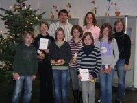 Teilnehmer und Jury des Vorlesewettbewerbs 2008